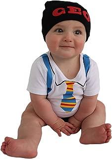 Sozo Baby-Boys Newborn CEO Bodysuit and Cap Set
