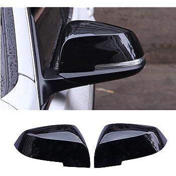 Yiwang Abs Kunststoff Für F20 F30 F31 F22 F23 F32 F33 F34 F35 X1 E84 Auto Rückspiegel Abdeckung 2 3 4 Serie Seitenflügel Spiegel Kappe Teile Schwarz Glänzend Auto