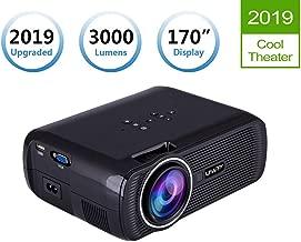 TOPRUI LCD LED Light 3000 Lumens Mini Video Projector Portable Home Theater,170