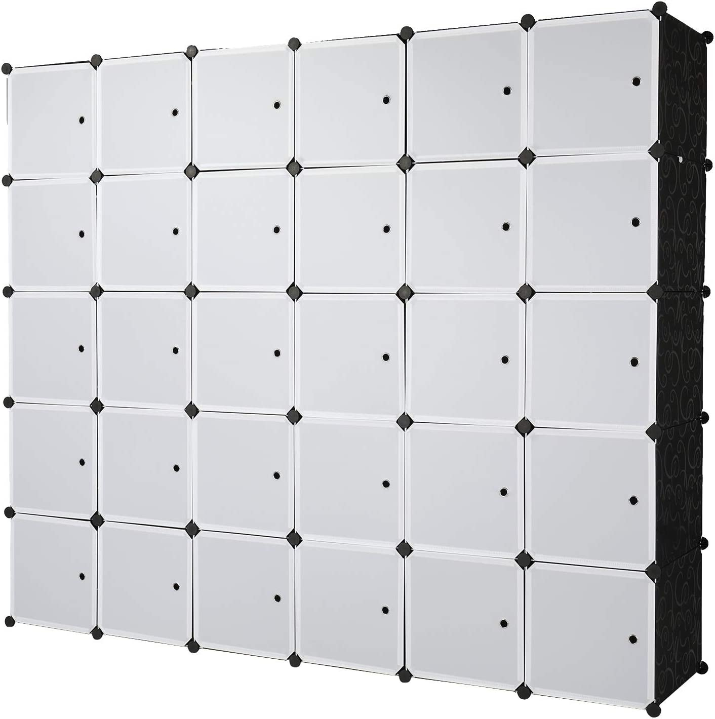 ZYONG Cube Max 71% OFF Storage 30-Cube Popular shop is the lowest price challenge Organizer Shelves Closet