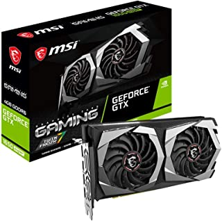بطاقة رسومات MSI Gaming GeForce GTX 1650 Super 128-بت HDMI/DP 4GB GDRR6 HDCP تدعم DirectX 12 Dual Fan VR Ready OC (GTX 165...