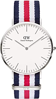 Daniel Wellington Classic Canterbury Watch, Multicolor NATO Band