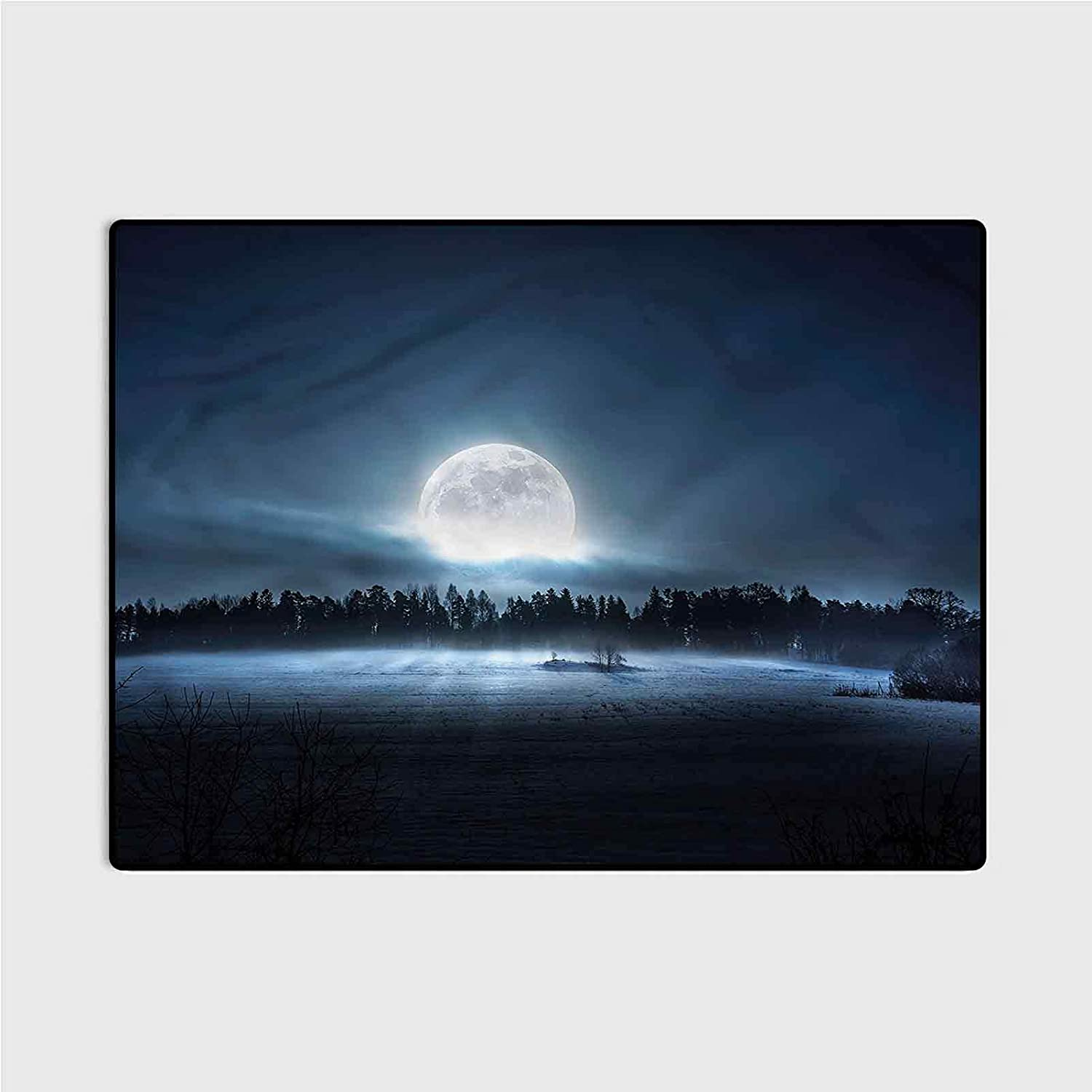 Directly managed store entryway Rugs Indoor Small Rug Night Ranking TOP3 Sky Moon Crescent Dark Fore