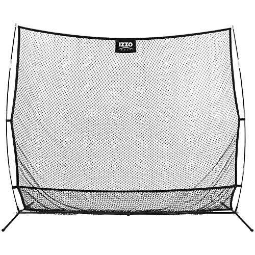 Izzo Golf Catch All Net - Extra Large Golf Hitting net for Your Backyard or Home Range, Black, 12' x 10'