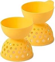 OXO Good Grips Silicone Egg Poachers (Set of 2)