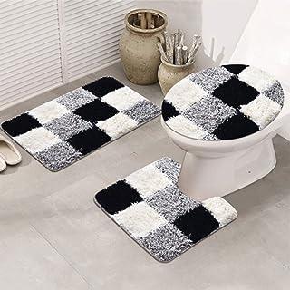 Amazon Com 5 Piece Bathroom Rug Set