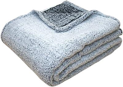 BK2107 ブラック シープ調 ニューマイヤー毛布 150×200cm KJ