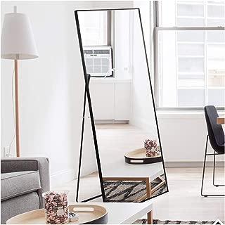 Beauty4U Wall Mirror/Floor Mirror Full Length Black Dressing Mirror for Wall Decor