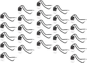 Blesiya 25pcs Refillable Perfume Empty Bottle Car Hanging Pendant Air Freshener Mini Diffuser