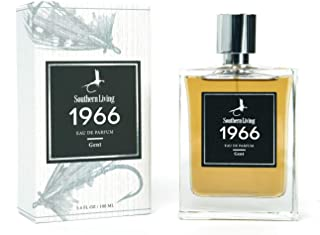 Southern Living - 1966, Gent, Gentleman's Cologne, Classic + Masculine Fragrance, Notes of Cedar and Bourbon, 3.4 Fl. Ounces