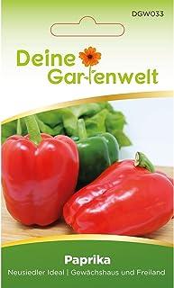 Snackpaprika Neusiedler Ideal | Paprikasamen | Samen für Paprika | Paprikasaat | Saatgut