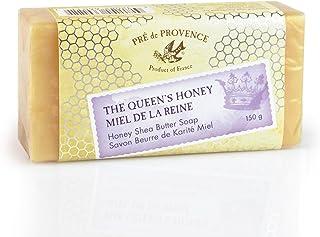 Pre de Provence Queen's Honey Shea Butter Enriched 150 Gram Large French Soap Bar - Original Honey