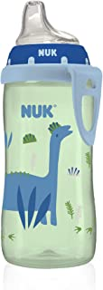 NUK Active Sippy Cup, Blue Dinosaur , 10oz 1pk
