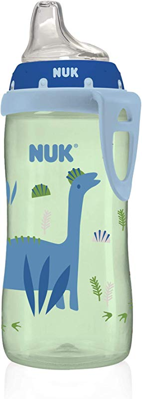 NUK Active Sippy Cup Blue Dinosaur 10oz 1pk