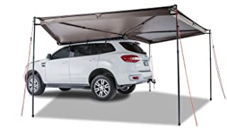 Rhino Rack 270 Degree Batwing Car Awning with Mounting Bracket, Easy Use & Fitment, Heavy Duty; for 4WD, Vans, Jeep, Pick ...
