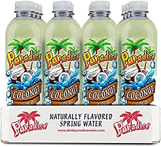 Paradise Coconut Flavored Spring Water, 12-pack (16.9oz bottles)