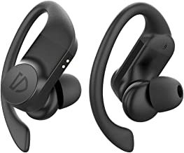 SOUNDPEATS TrueWings True Wireless Earbuds Ear Hooks Bluetooth Earphones 5.0 in-Ear Wireless Headphones for Sports with IPX7, Touch Control, 13.6mm Driver, Mono/Stereo Mode, USB-C Charge