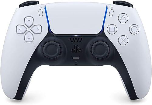 Manette PlayStation 5 officielle DualSense, Sans fil, Batterie rechargeable, Bluetooth, Compatible avec PS5, Couleur ...
