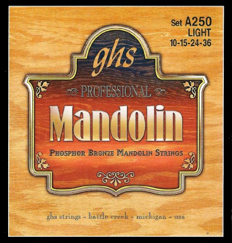 GHS Strings A250 Phosphor Bronze Mandolin Strings