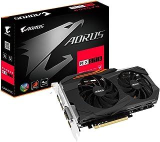 Gigabyte AORUS Radeon RX 570 - Tarjetas gráficas (4 GB, GV-RX570AORUS-4GD)