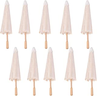 10 Pcs Paper Parasol Chinese/Japanese Paper Umbrella For Children,Decorative Use,and DIY Projects by Team-Management
