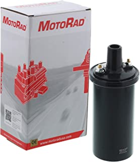 MotoRad 1IC129 Ignition Coil | Fits select Chevrolet LUV; Ford Bronco, Econoline, Fairlane, Galaxie, Mustang, Thunderbird; Lincoln Continental; Mercury Colony Park, Comet, Cougar