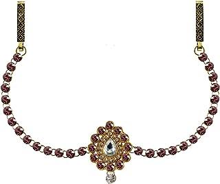 Vidhya Kangan Belly Chains for Women (Pink) (bro338)