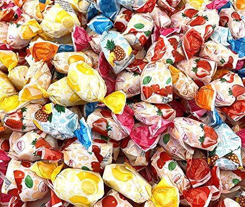 Sunny Island Arcor Fruit Filled Hard Candy Bon Bons, Bulk Pack Assorted Flavors Candy, 2 Pounds Bag