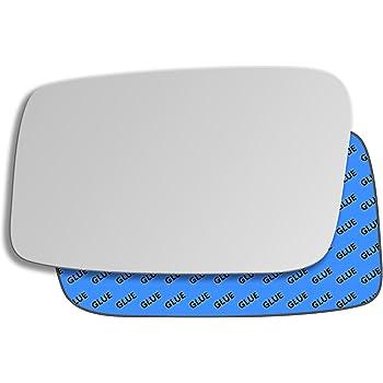 Left Passenger side Wing door mirror glass for Volvo 850 1992-1997