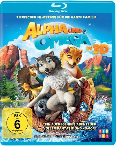 Alpha und Omega in 3D / Alpha and Omega ( ) (3D) (Blu-Ray)