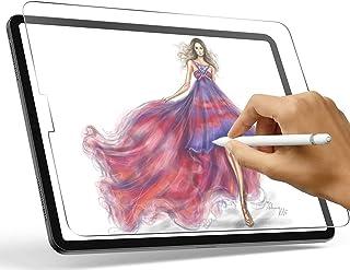 حامي شاشة TK Paperfeel لجهاز iPad Air 4 (10 بوصة، 2020 نموذج) iPad 10.9 Matte PET نسيج ورق لا وهج واقي ورقي مقاوم للخدش، م...