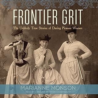 Frontier Grit audiobook cover art