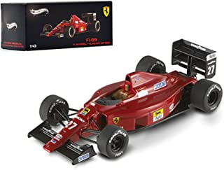 Hot wheels X5517 Ferrari F1-89 #27 Nigel Mansell Hungary GP 1989 Elite Edition 1/43 Diecast Model Car by Hotwheels