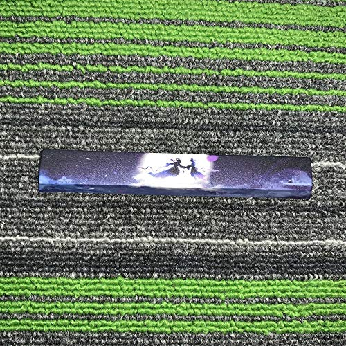 Teclas del Teclado 1 Pieza PBT 5 Caras Teclado Sublimación Mecánica Espacial Clave Cap 6.25X Cereza Perfil Barra espaciadora tecla Clave (Asse del Corpo : Key Cap Only, Colore : The Seventh Moon)