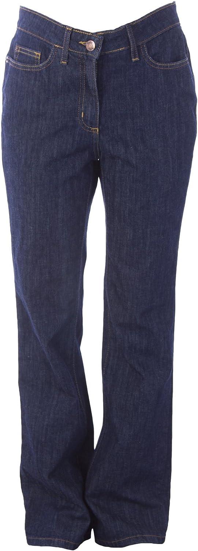 BODEN Women's Bootcut Jeans US Sz 4R Dark Indigo
