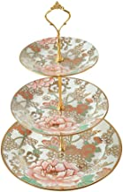 Cake Stand 3 Tier Ceramic Cake Stand Fruit Plate For Fruit Buffet Stand For Wedding Birthday Party Home For Birthday Weddi...