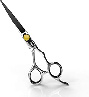 Professional Hair Cutting Scissors 6.5 Inch ULG Barber Shears Japanese Stainless Steel Haircut Tools Salon Razor Edge Series with Adjustment Tension Screw