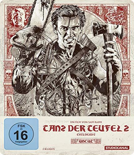 Tanz der Teufel 2 Uncut (4K Steelbook, Collector's Edition)(exklusiv bei Amazon.de) [Blu-ray]