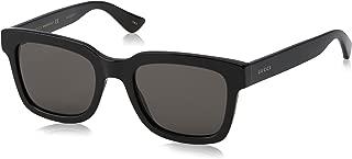Gucci Fashion Sunglasses, 52/21/145, Black / Smoke / Black