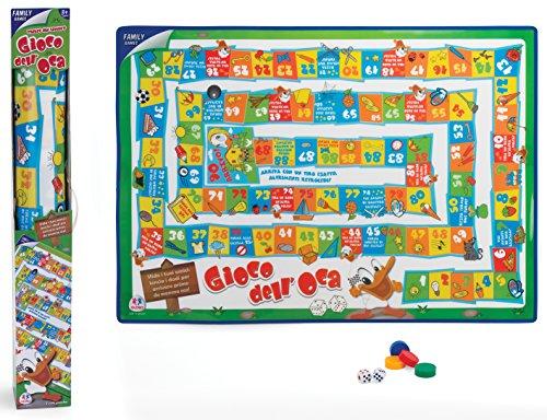 Globo Toys Globo–37024100x 70cm Gans Teppich Familie Spiel