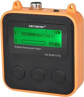 Festnight SATHERO SH-110HD Satellite Finder Digital TV Finder Meter with LCD Dispaly, DVB-T DVB-T2 Satellite TV Receiver Terrestrial Signal Finder Meter