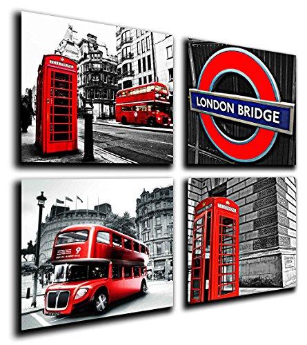 Poster Fotográfico London, Ciudad de Londres Tamaño total: 63 x 62 cm XXL
