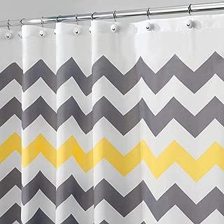 Best chevron bath curtain Reviews