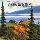 Washington Wild & Scenic 2020 12 x 12 Inch Monthly Square Wall Calendar, USA United States of America Pacific West Coast State Nature (English, French and Spanish Edition)
