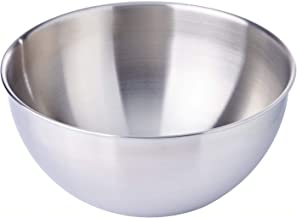 Dolphin Collection 3ATEM21 Stainless Steel Mixing Bowl, 21 x 10.5cm,Silver