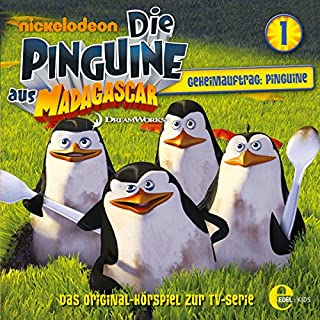 Geheimauftrag: Pinguine. Das Original-Hörspiel zur TV-Serie Titelbild