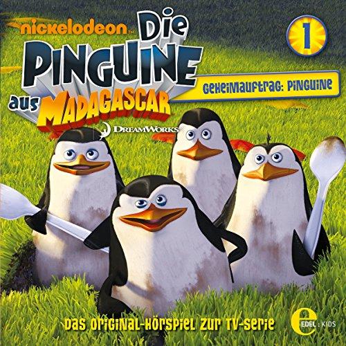 Geheimauftrag: Pinguine. Das Original-Hörspiel zur TV-Serie audiobook cover art
