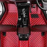 Alfombrillas De Coche Para Mitsubishi Grandis 6-Seat 2009(RHD), Cuero El Alfombra Auto Cobertura Completa Esteras Moqueta Antideslizantes Forro Coche Moquetas ProteccióN Accesorios