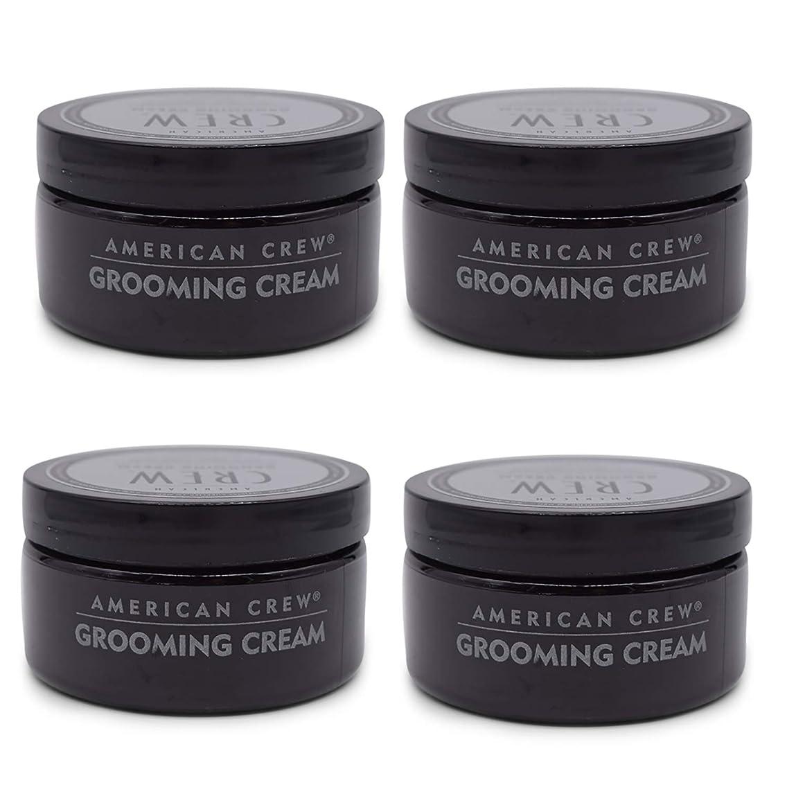 拒絶目の前の最近American Crew Grooming Cream 3oz (4 PACK!!) by American Crew