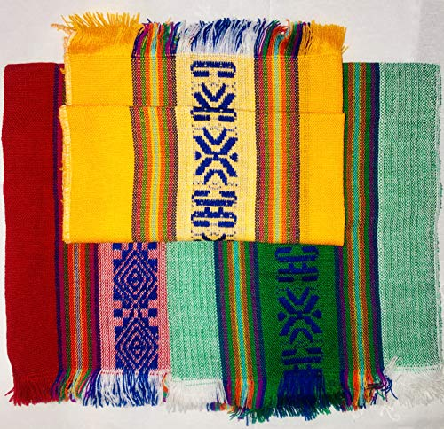 El Cora Productos Mexican Festive Colors Cloth Napkins | Servilletas De Colores Festivos De Tela para Tortillas (6)